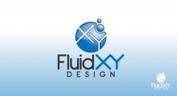 FluidXY 250x136 Logo Design
